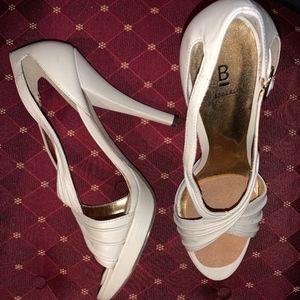 Cream Color Classy Heels